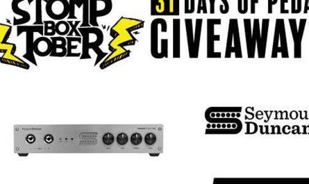 Stompboxtober Día 19: Seymour Duncan PowerStage 700