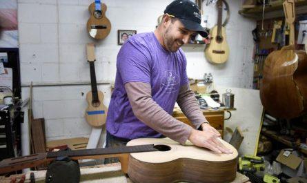 Diez tiendas de guitarras y música en Nashville