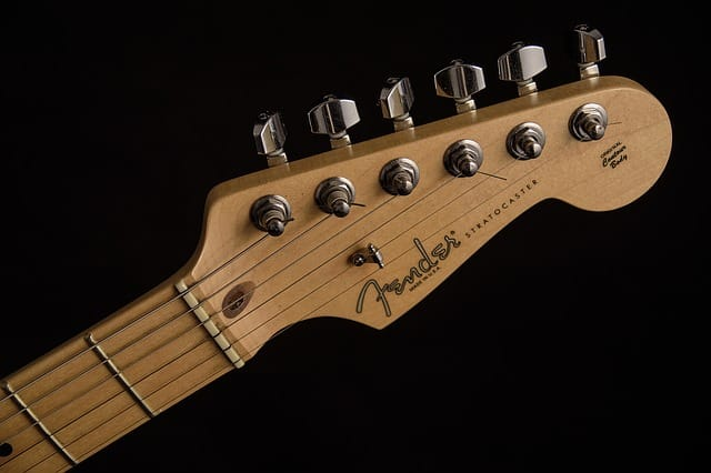 cabeza de guitarra electrica