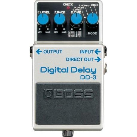 pedal de guitarra delay