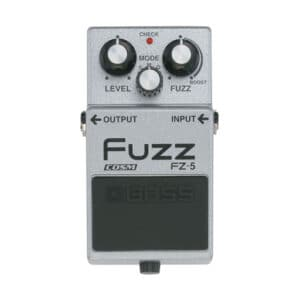 pedal de guitarra fuzz