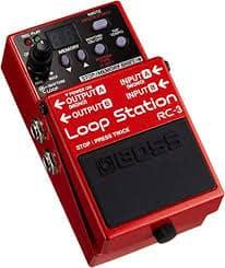 pedal de guitarra loop o looper