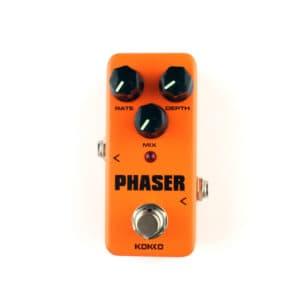 pedal de guitarra phaser
