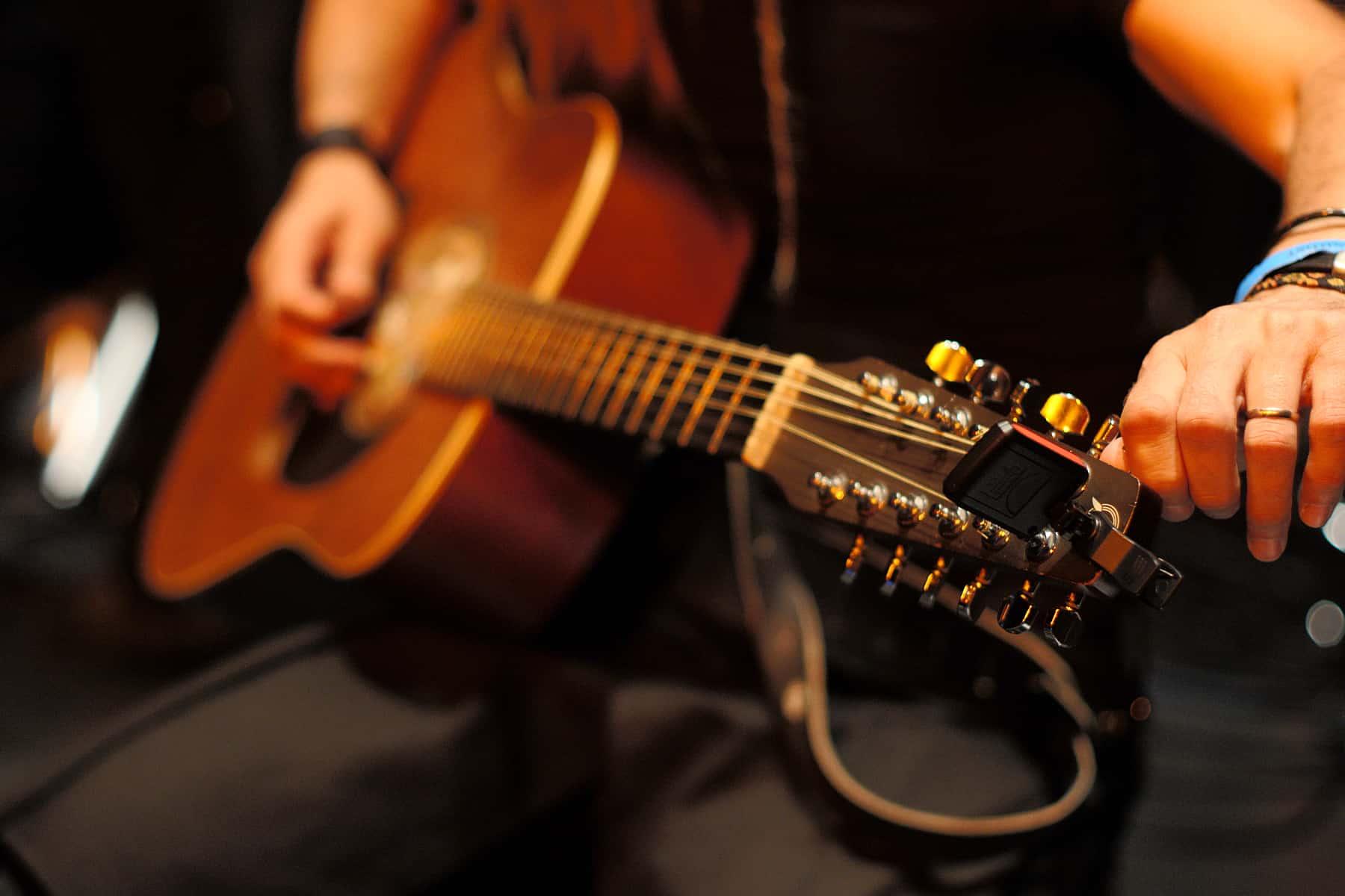 afinador de guitarra online